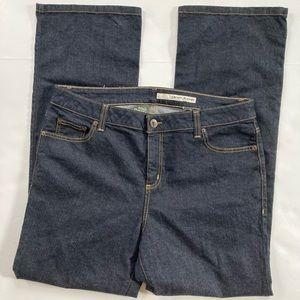 DKNY Soho Straight Leg Dark Wash High Rise Jean